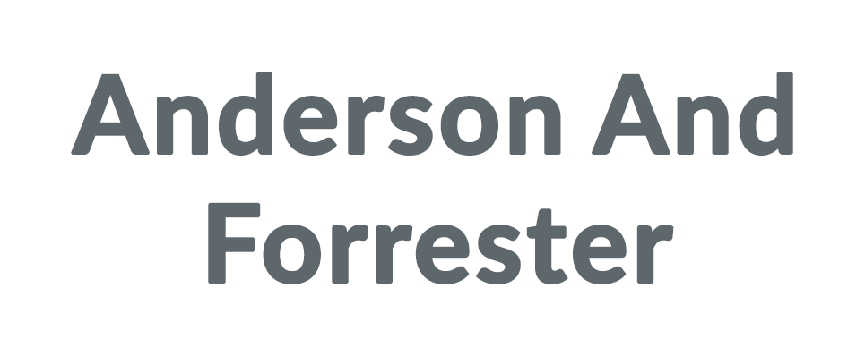 Anderson And Forrester coupon code
